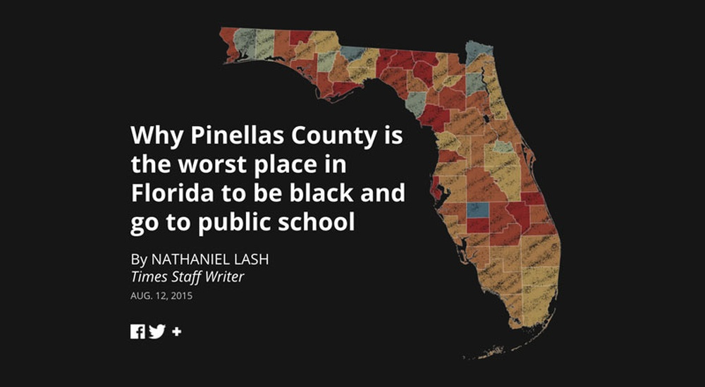 For several weeks, the Tampa Bay Times has been publishing Failure  Factories, a series exploring the effects of the Pinellas County school  district's ...