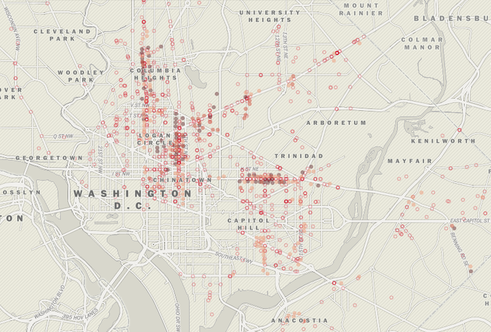 Mapping the Fiery Chaos of the 1968 Riots - Features - Source: An