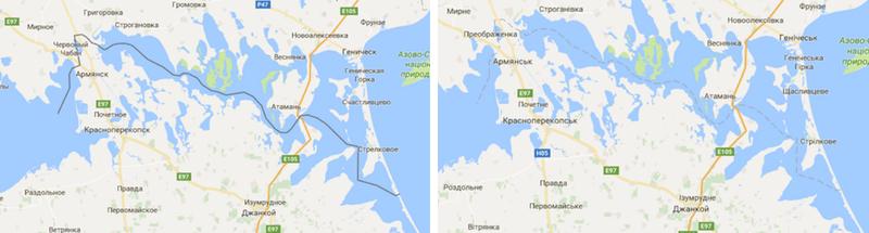 Maps of Crimea