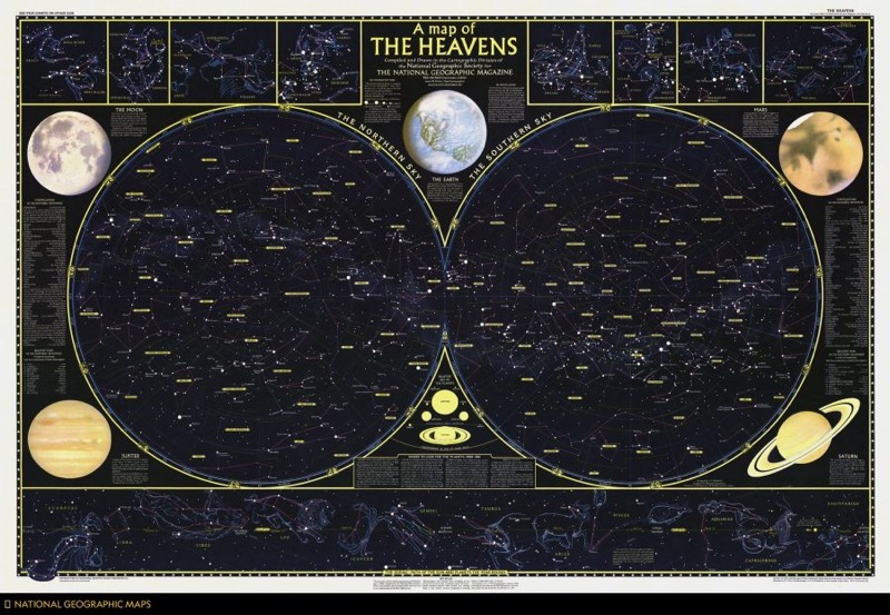 A map of the stars