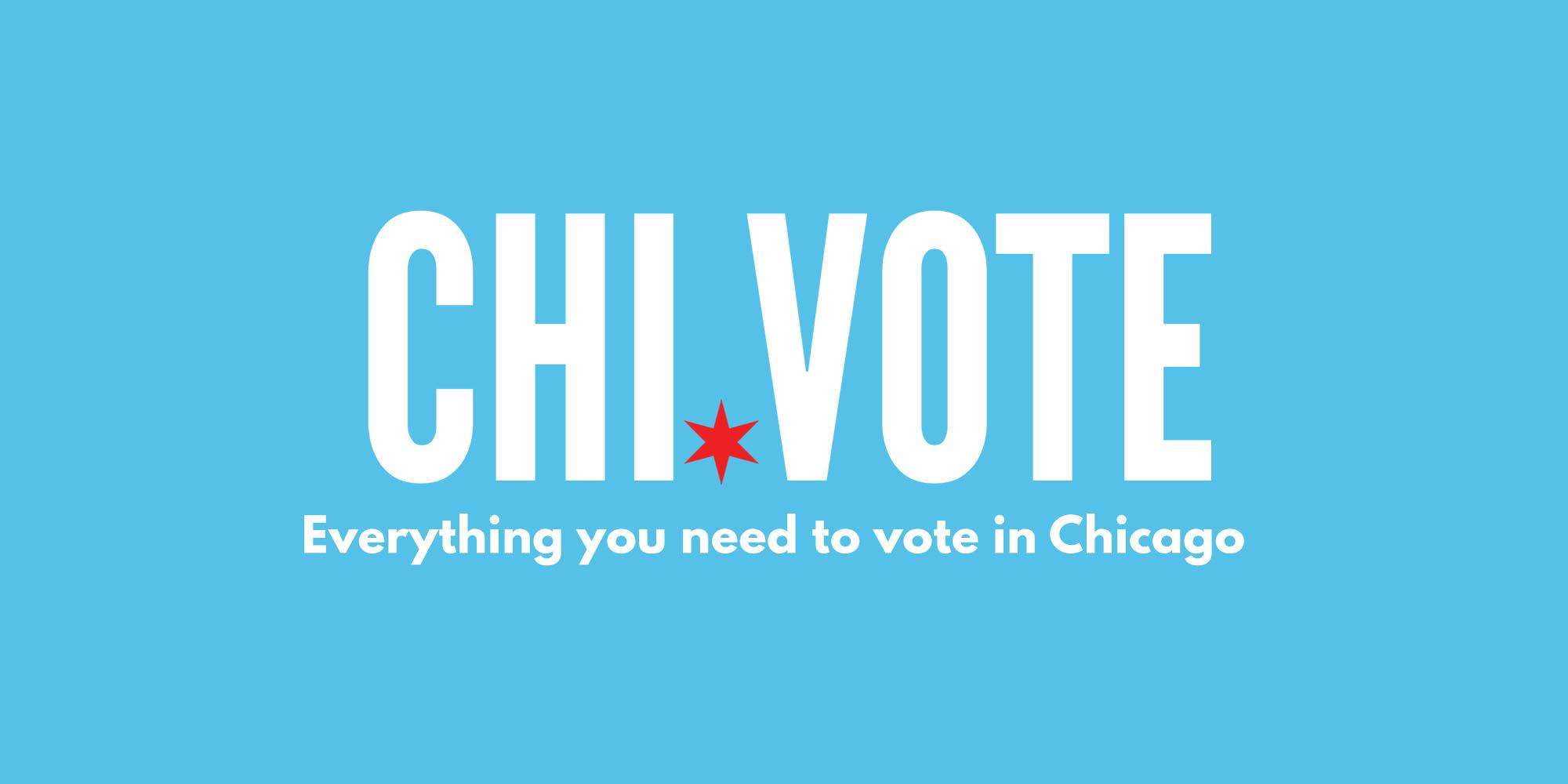 Logo for Chi.Vote