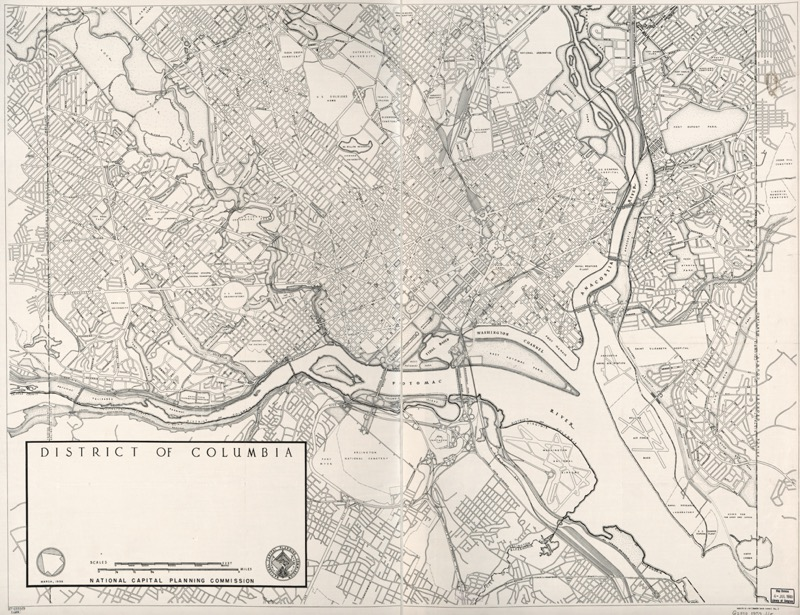 Photo of archival map