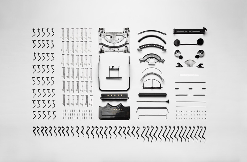 Typewriter pieces