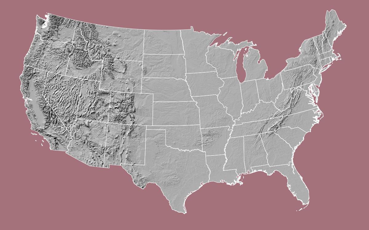 U.S. National Atlas Equal Area Projection